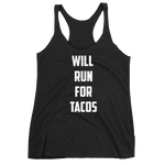 Will Run for Tacos Tank