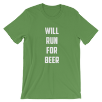 Will Run for Beer Tee