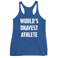 World's Okayest Athlete Tank