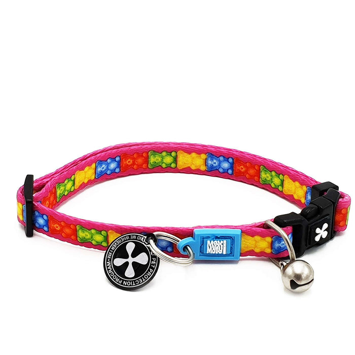 Smart ID Cat Collar - Jelly Bears - Max & Molly Urban Pets