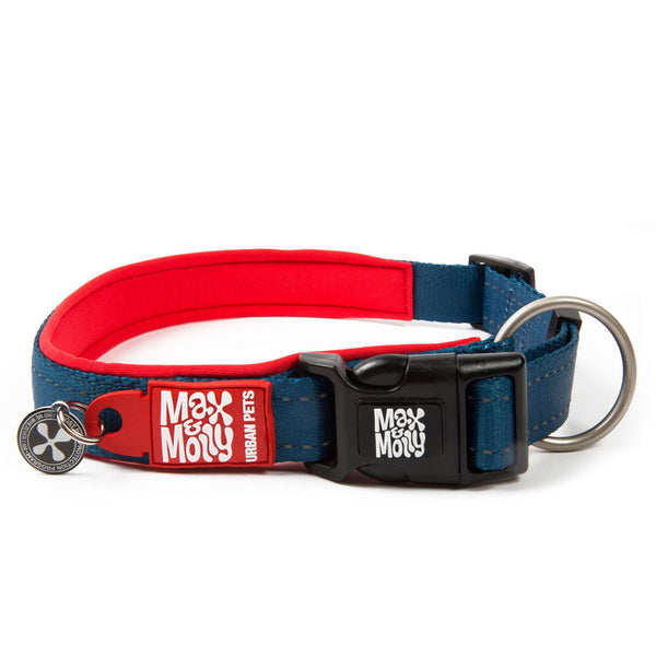 Smart ID Collar - Matrix Red - Max & Molly Urban Pets