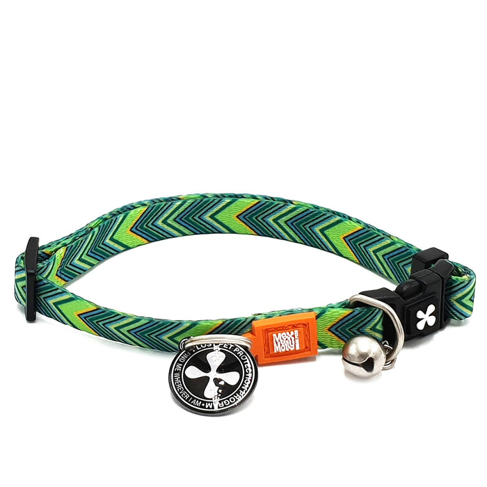 Smart ID Cat Collar - Vintage - Max & Molly Urban Pets