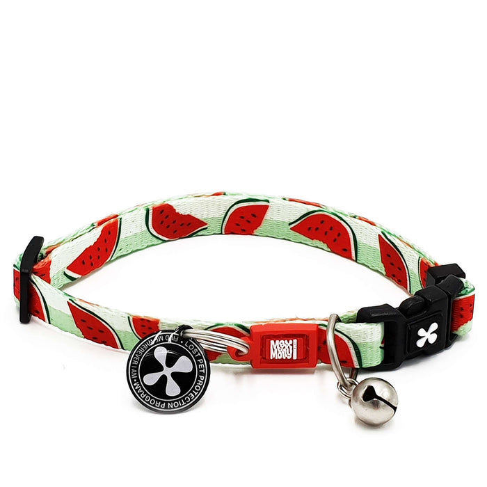Smart ID Cat Collar - Watermelon - Max & Molly Urban Pets