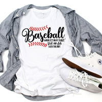 Baseball Sublimation Transfer