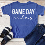 Game Day Vibes White YOUTH Screen Print Transfer