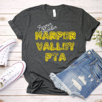 Former member Harper valley PTA fan art Screen Print Heat Transfer