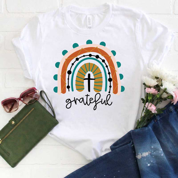 Grateful Rainbow Sublimation Transfer