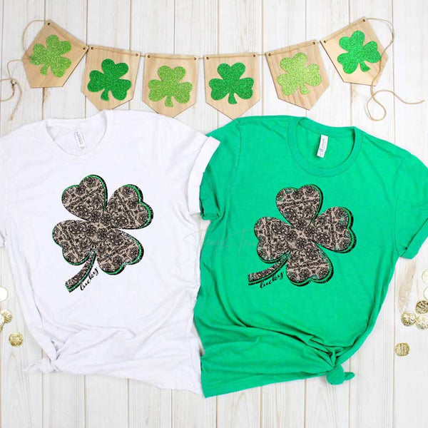 Lace 4 Leaf Clover Sublimation Transfer