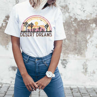 Desert Dreams Rainbow Sublimation Transfer