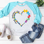 Accept Understand Love Sublimation Transfer