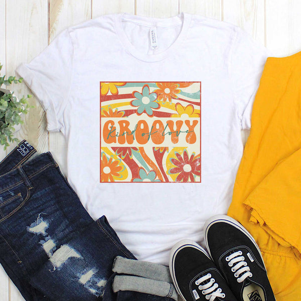 Groovy Kind Of Love Sublimation Transfer