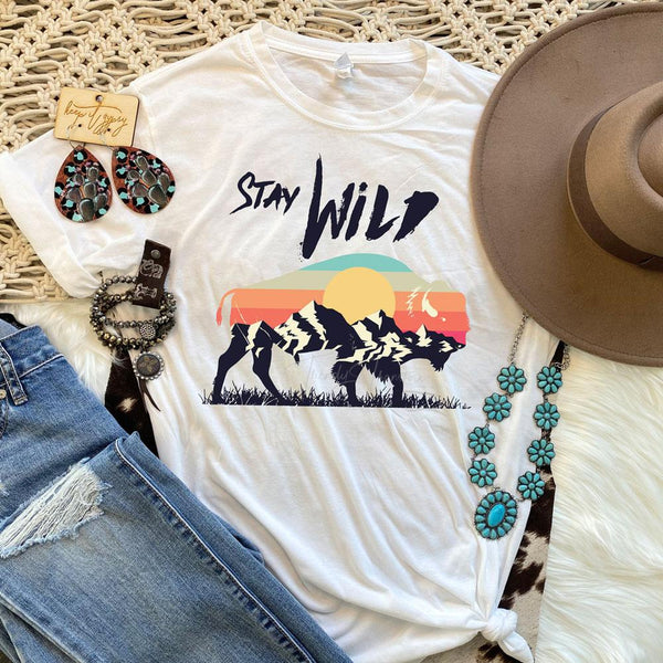 Stay Wild Sublimation Transfer