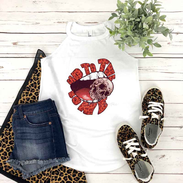 Leopard Bad To The Bone Sublimation Transfer