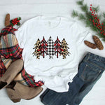 Patterned Christmas Trees Sublimation Transfer