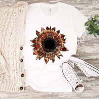 Tie Dye Sunflower Sublimation Transfer
