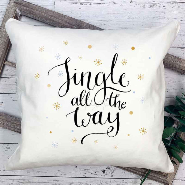 Jingle All The Way Sublimation Transfer