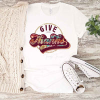 Give Thanks Retro Sublimation Transfer