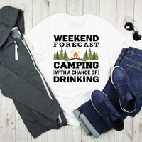 Weekend Forecast Camping With A Chance Of Drinking Sublimation Transfer