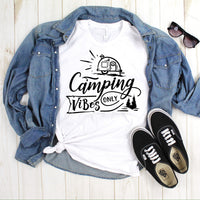 Camping Vibes One Color Sublimation Transfer