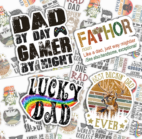 Dad Variety Pack Stickers
