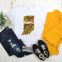 Indiana Leopard and Sunflower with Home Sublimation Transfer