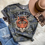Eye Of The Tiger Screen Print Heat Transfer