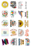 Positivity Variety Pack Stickers