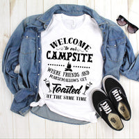 Welcome To My Campsite One Color Sublimation Transfer
