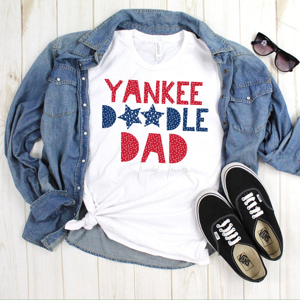 Yankee doodle dad family set Sublimation Transfer