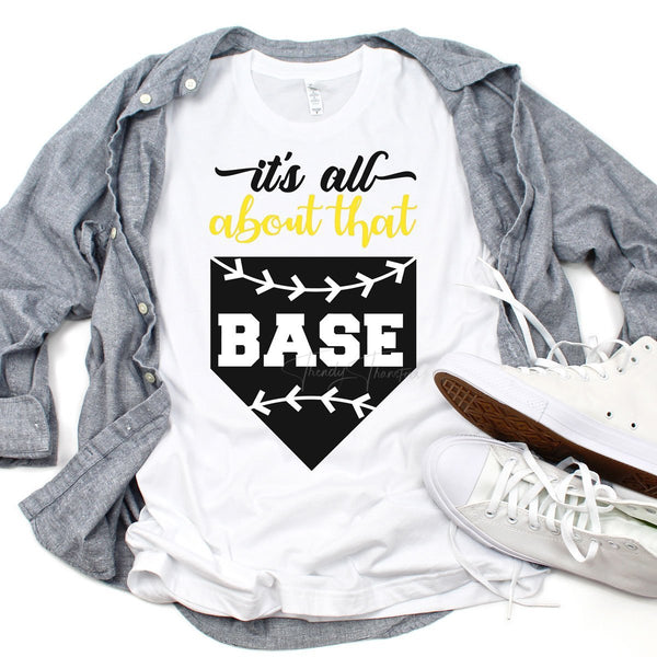 All About That Base Softball Sublimation Transfer