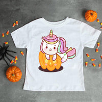 Unicorn baby halloween pumpkin Sublimation Transfer