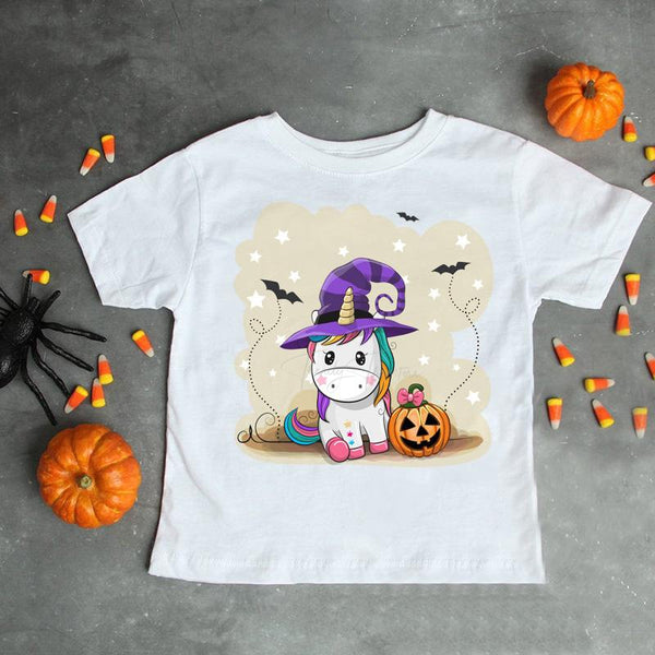 Unicorn baby witch halloween Sublimation Transfer