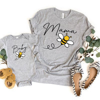 Mama Bee ADULT Screen Print Heat Transfer