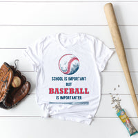 Humor School vs Baseball Sublimation Transfer