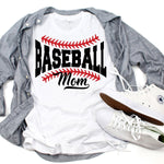 Baseball Mom Sublimation Transfer