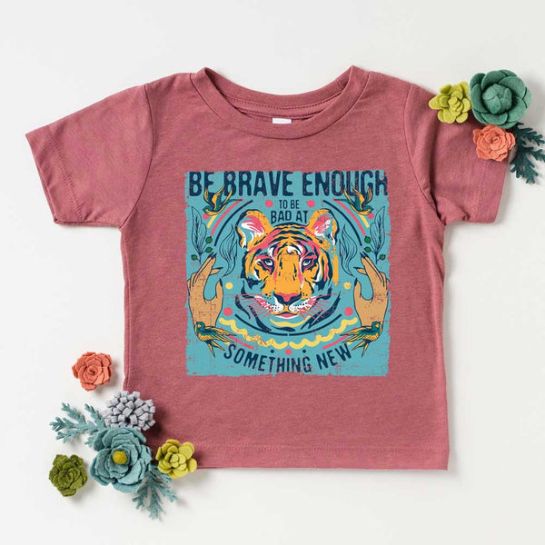 Be Brave Enough To YOUTH Screen Print Heat Transfer
