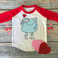 Be Mine Frog Sublimation Transfer