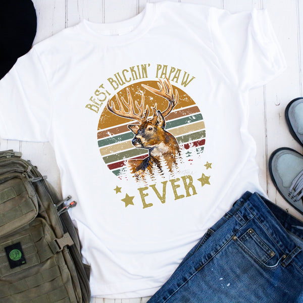 Best Buckin Papaw Ever Sublimation Transfer