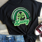 Lucky Rainbow St. Patrick's Day Screen Print Heat Transfer