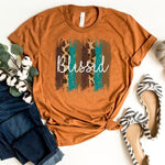 Blessed Brush Strokes Screen Print Heat Transfer