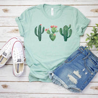 Cactus Screen Print Transfer