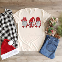 Christmas Gnomes Screen Print Heat Transfer