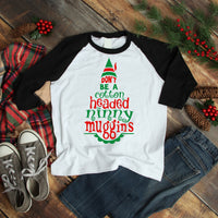 Don't Be a Cotton Headed Ninny Muggins Elf Fan Art Sublimation Transfer