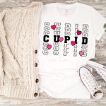 Cupid word stack Valentines Sublimation Transfer