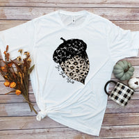 Leopard print acorn It's fall y'all Sublimation Transfer