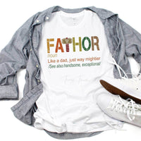 FaThor Father's Day Sublimation Transfer