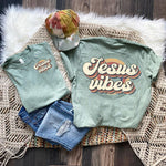 Jesus Vibes POCKET Screen Print Heat Transfer