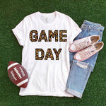 Game Day leopard Sublimation Transfer