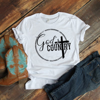 God's Country Sublimation Transfer