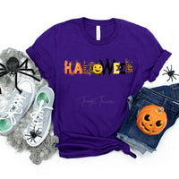 Halloween Screen Print Heat Transfer